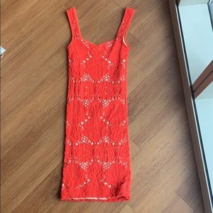 Free People body con dress